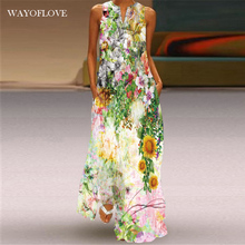 WAYOFLOVE модное праздничное пляжное платье 2021 в винтажном стиле; Повседневная одежда размера плюс длинные платья летние женские платье с жемчу...