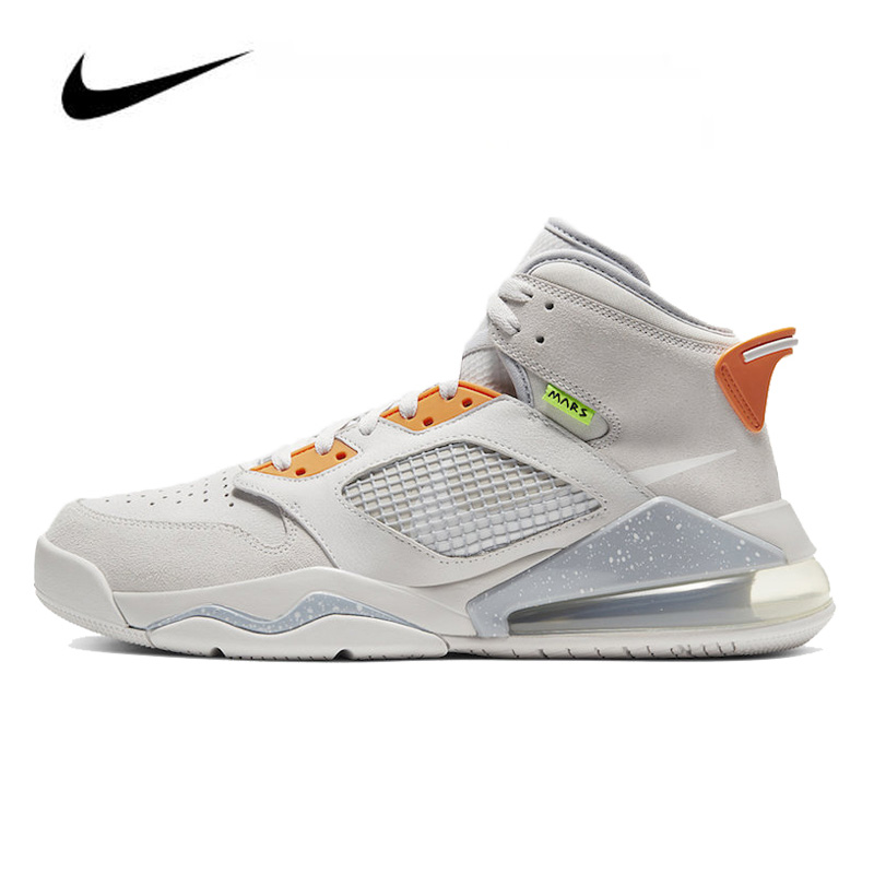 Nike Air Jordan Mars 270 Women Jordan Basketball Shoes High-top Air Cushion Retro Basketball Sneakers Men Boots CT9132-002