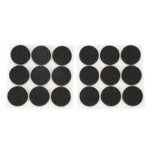 Новинка-18 шт Самоклеющиеся черные пенопластовые подставки для ног на стол стула