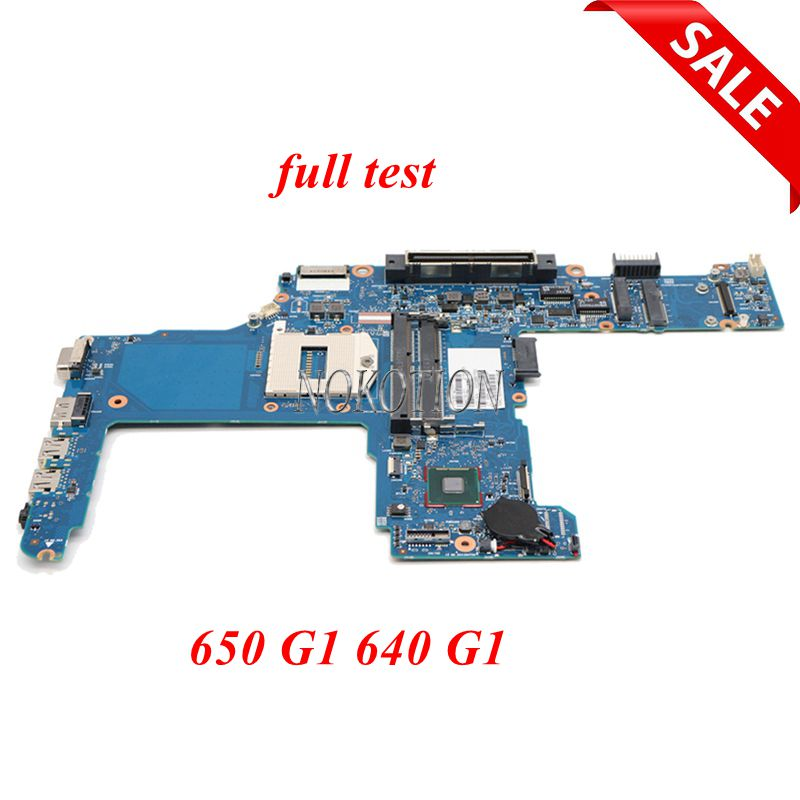 NOKOTION 744016-601 744016-001 Main board For <font><b>HP</b></font> <font><b>ProBook</b></font> 640 <font><b>650</b></font> <font><b>G1</b></font> Laptop <font><b>motherboard</b></font> GMA HD 4400 DDR3L full tested image