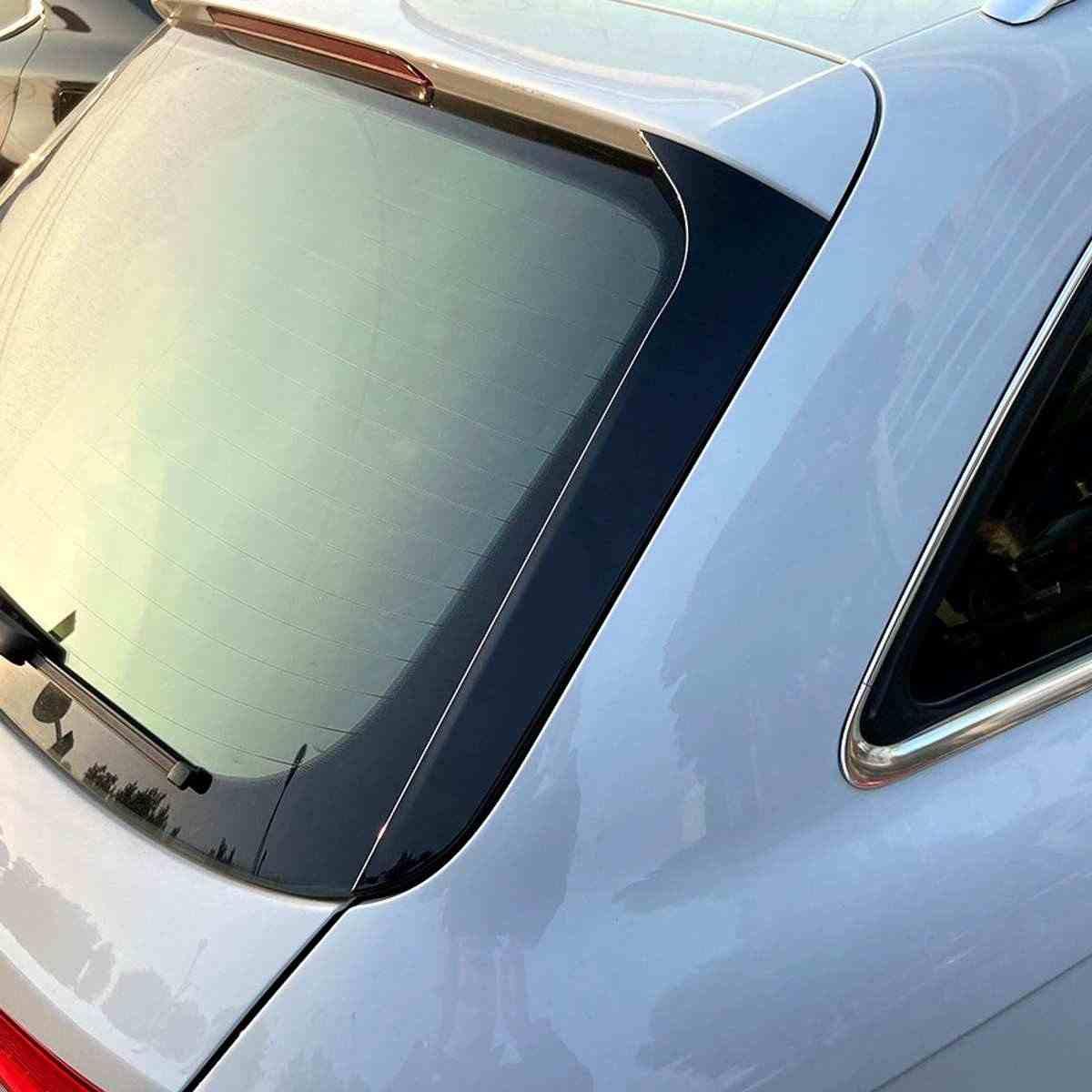 YXYNB Spoiler Nero Lucido per Lunotto Posteriore Spoiler Laterale Ad Ala Misura per Audi A4 B8 Allroad Avant 2009 2010 2011 2012-2016 Accessori per Lo Styling Auto Strisce per Spoiler per Labbra
