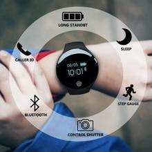 цена Bluetooth Smart Watch for IOS Android Men Women Sport Intelligent Pedometer Fitness Bracelet Watches for iPhone Clock Men онлайн в 2017 году