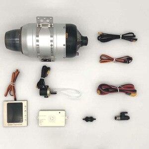 Image 2 - Турбинный двигатель SW80B, вес 8 кг, для большой модели самолета, автомобиля, мотоцикла