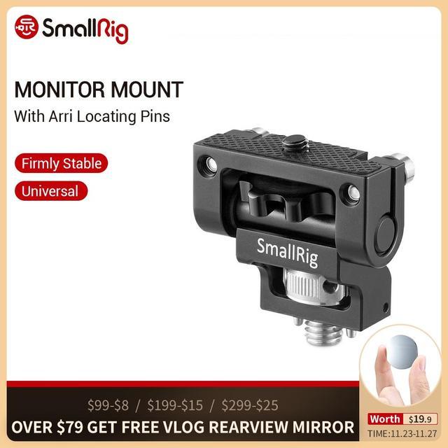 SmallRig 범용 DSLR 카메라 회전 모니터 장착 Arri 위치 결정 핀으로 카메라 2174 모니터 고정