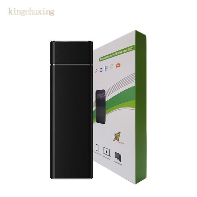 TYPE-C GEN2 Interface externe SSD USB 3.1 Mini lecteur Flash Portable disque dur Mobile 1 to 512GB pour téléphone de bureau dordinateur Portable
