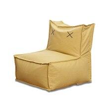 Детская Милая принцесса мультфильм ленивых людей диван детский диван стул оригинальность спинки диван одно сиденье моющийся мешок фасоли Zitzak