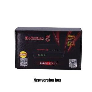 Image 4 - 1pc Hellobox 8 לווין מקלט DVB T2 DVBS2 משולבת טלוויזיה תיבת Twin טיונר תמיכת טלוויזיה לשחק על טלפון סט למעלה תיבת לווין finder