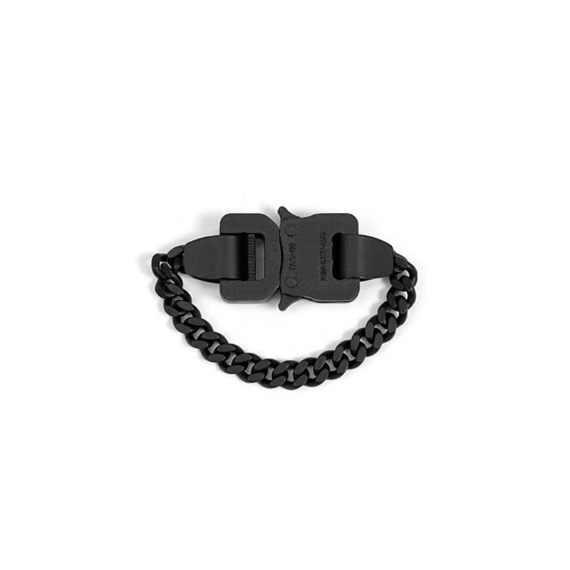 Массивные ювелирные изделия алыкс черная душа браслет Bnagle пластиковые кнопки хип хоп высокая производительность дизайн вечерние подарки н