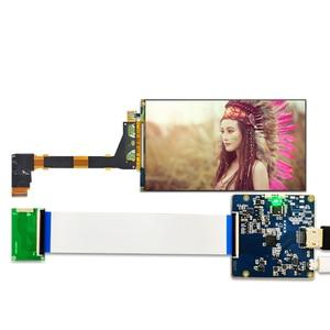 Image 5 - 5.5 cal 2K LCD ekran 1440x2560 LS055R1SX03 wyświetlacz z HDMI do MIPI płyta kontrolera dla WANHAO D7 3d drukarki części projektora