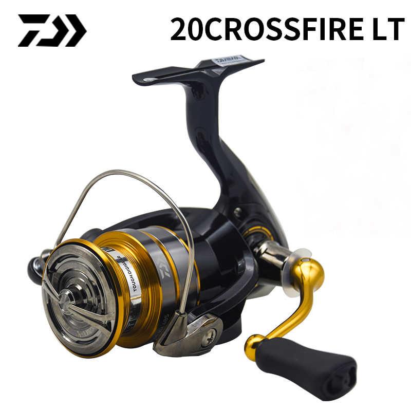 Daiwa Crossfire LT 2000-4000 Spinning reel Aluminum longcast spool NEW 2020