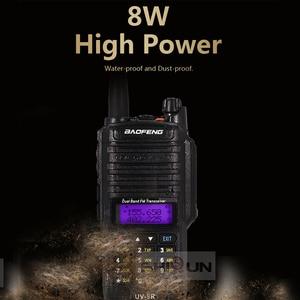 Image 4 - 8W Baofeng UV 9R IP67 להקה 136 174/400 520MHz חם רדיו 10 KM Baofeng 8W מכשיר 10 KM UV 9R UV 82 UV XR