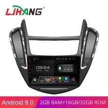 LJHANG Android 9,0 9 дюймов Автомобильный dvd-плеер Для Chevrolet TRAX gps навигация 1 Din автомобильный радио мультимедиа wifi стерео