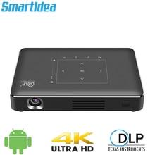 Smartldea P10 II Mini 4K проектор android 6,0 Dual 2,4G 5G wifi Bluetooth 4,1 умный проектор Full HD 1080p видеопроектор