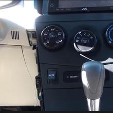Комплект для ремонта Aux порта, совместимый с Toyota Corolla Tundra Tacoma Aux Jack, замена входного разъема 8619002010