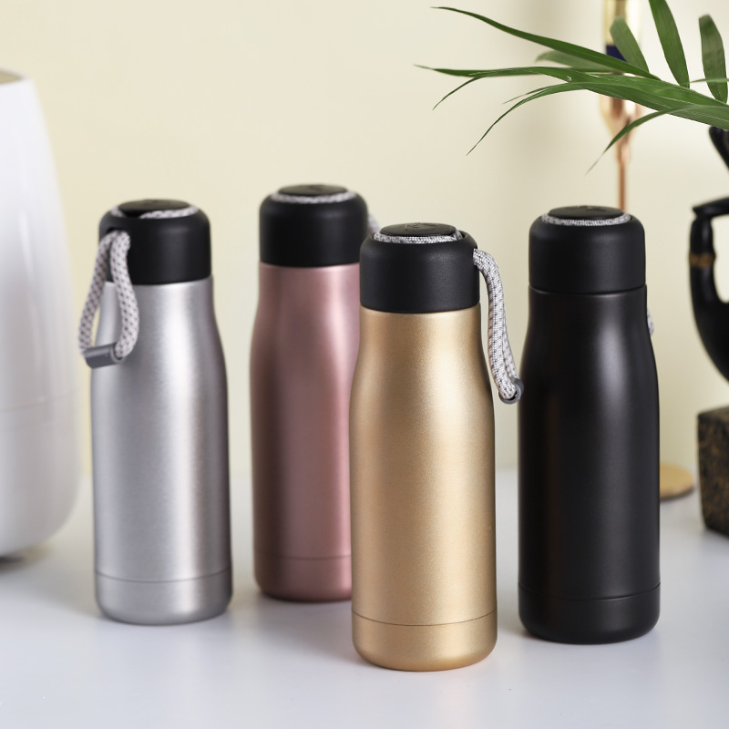 Thermos Water Bottle for Kids Adults 304 Stainless Steel Duarable Sturdy Mug Portable Vacuum Flasks Creative Thermal 350ml 500ml in Vacuum Flasks Thermoses from Home Garden