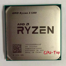 AMD Ryzen 3 1200 R3 1200 3.1 GHz czterordzeniowy czterordzeniowy procesor CPU YD1200BBM4KAF gniazdo AM4