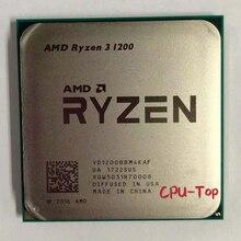 AMD Ryzen 3 1200 R3 1200 3,1 ГГц четырехъядерный процессор с четырехъядерным процессором YD1200BBM4KAF сокет AM4