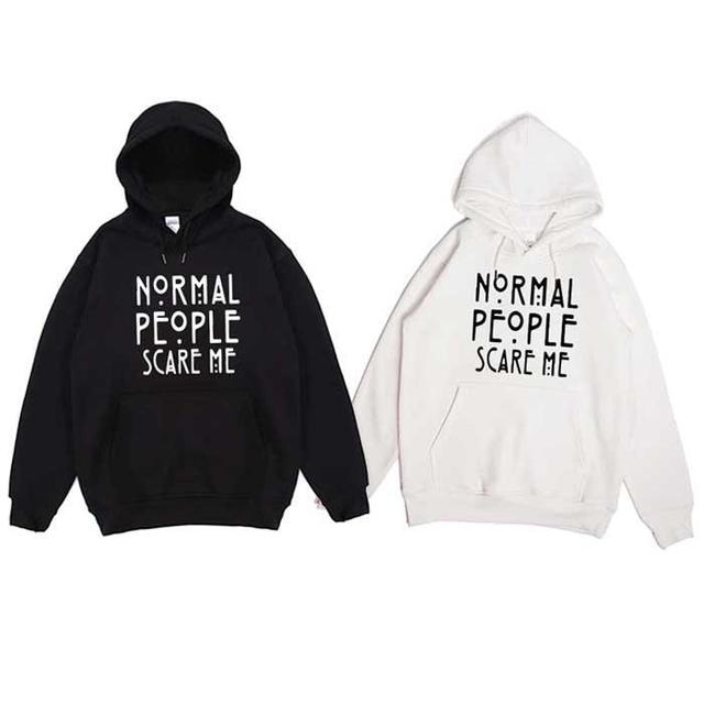 American Style  men's and women's Hoodies Ovrsiezed Sweatshirt Letter Print crewneck hooded vintage  clothes for teens  Cotton 1