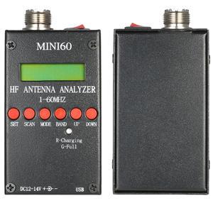 Meter SARK100 Antenna-Analyzer Ham Radio Mini60 New HF for Hobbists 1-60mhz AD9851 Ant-Swr