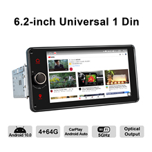 GPS Navigation Autoradio Universal-Head-Unit Car-Stereo Bluetooth JOYING 1-Din Dvd-Player