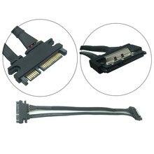 30cm/50cm 22Pin(15 + 7) erkek 22 pin dişi SATA seri ATA veri güç kablosu uzatma konnektör kablosu SATA kabloları
