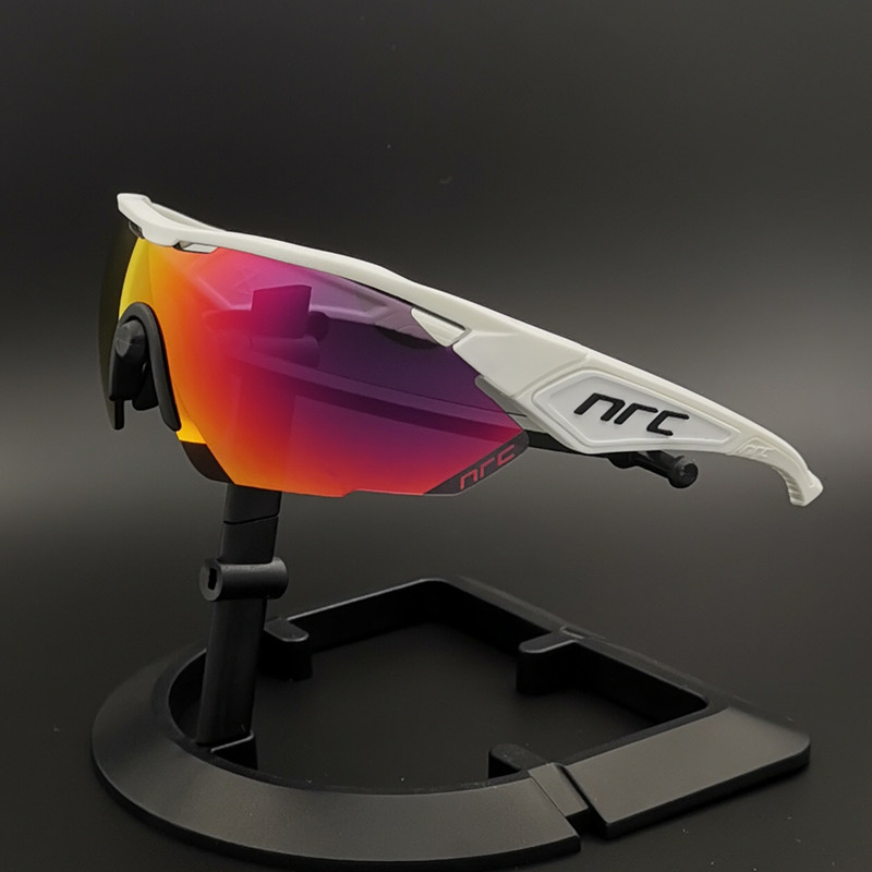 Brand NRC Outdoor Sports Cycling Glasses Mountain Bike Cycling Goggles UV400 Photochromic Men Cycling Sunglasses Unisex Eyewear