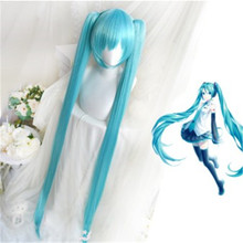 Japanese anime VOCALOID Cosplay Wig Hatsune Miku Costume Pla