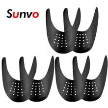 Bouclier de chaussures Anti-pli pour baskets, protection des chaussures, extenseur façonnant les orteils, protection de la tête, 3 paires, livraison directe
