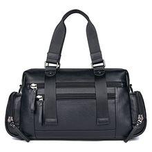 Дорожная сумка из натуральной кожи для мужчин и женщин большая