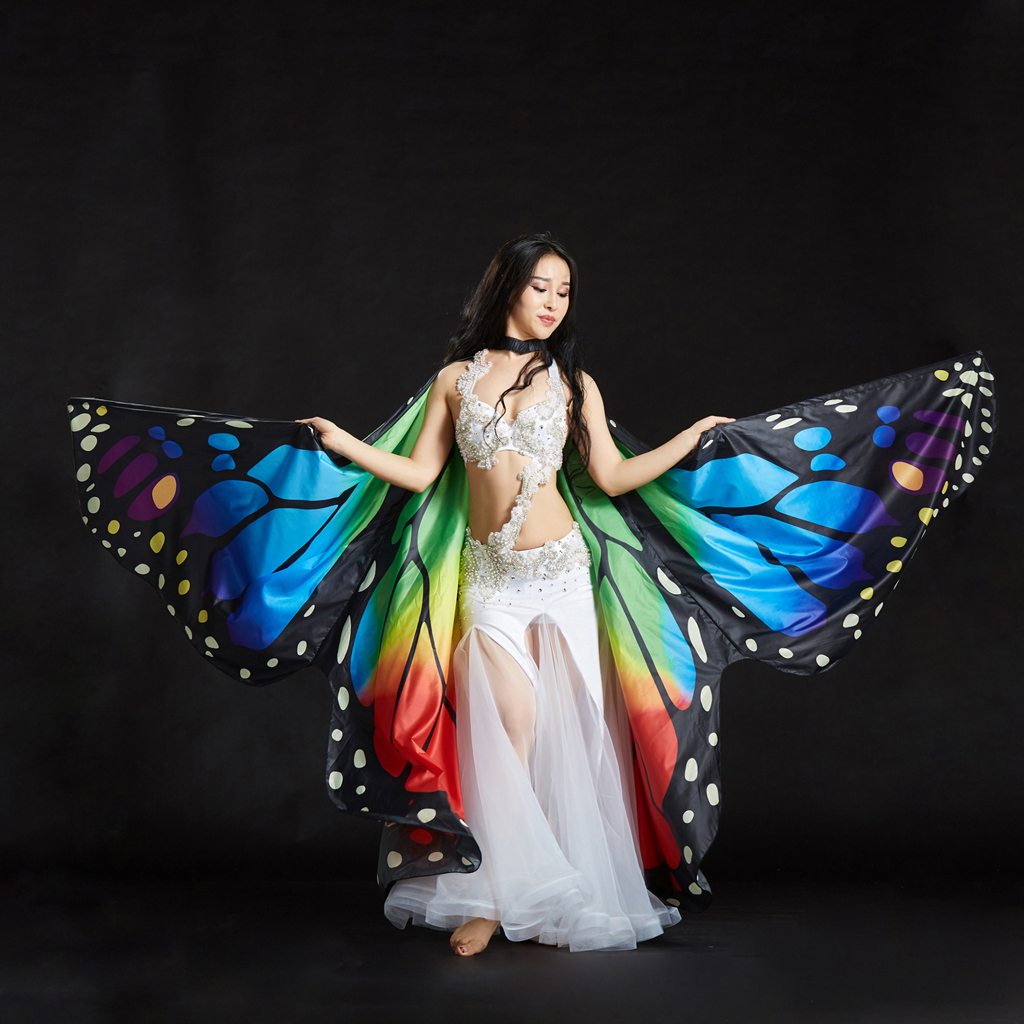 Carnival Costumes Butterfly Scarf Adult Costume Butterfly Wings