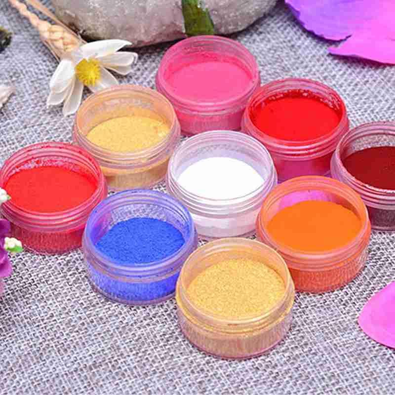 26 Colors Natural Lip Stick Powder DIY Moisturizing Lip Gloss Mouth Red Powder Lasting Non-stick Colorful Mica Powder Lip Balm
