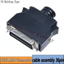 MDR Cable Connector male 36-Pin SCSI CN Connector