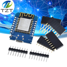5 adet akıllı elektronik D1 mini   Mini NodeMcu 4M bayt Lua WIFI şeylerin Internet kalkınma kurulu tabanlı ESP8266 tarafından WeMos