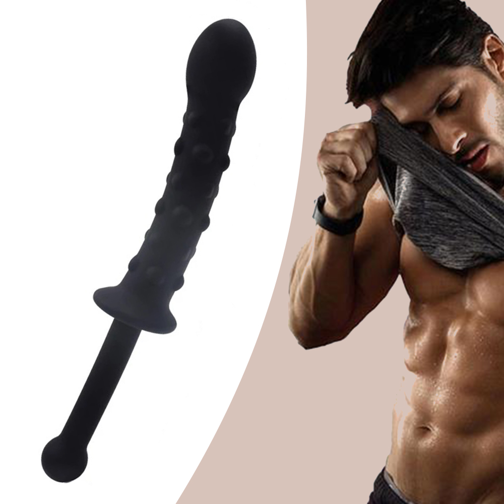 Silicone Anal Plug Pluggable Tail Anus Pull Beads Butt Plug Prostate Massager G-spot Stimulator Dildo Sex Toys For Woman Man Gay