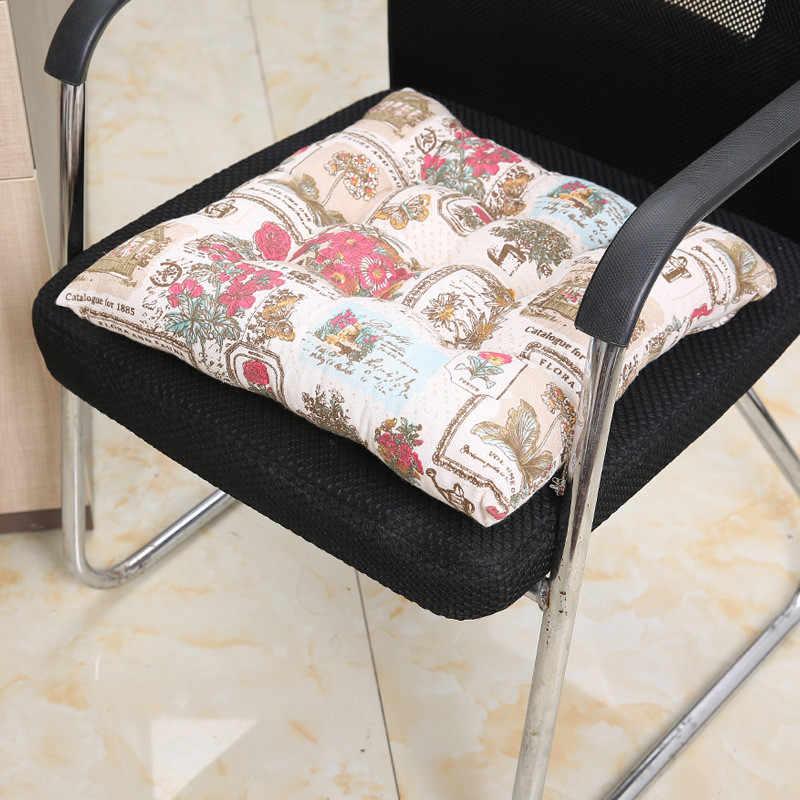 レースのシートクッション屋内/屋外ガーデンパティオ家庭の台所オフィスソファ座椅子ソフトクッションガーデン家具ベンチマットパッド #45
