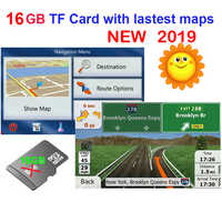 GPS zubehör 16G gps karten sd karte 2019 neueste Karte für WinCE auto gps navigation karte Europa/Russland /USA/CA/AU/Israel Auto gps karte