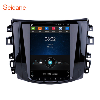 Seicane for 2018 Nissan NAVARA Terra 9.7 inch Android 9.1 Car Radio Multimedia Player with GPS Navi Mirror link WIFI SWC image