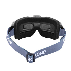 Image 3 - SKYZONE SKY02X 5,8 Ghz 48CH FPV Goggles Unterstützung 2D/3D HDMI Kopf Tracking Mit Fan DVR Kamera Für RC racing Drone Modell Flugzeug