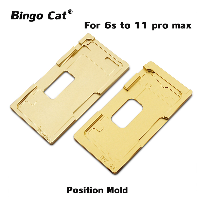 Precision Aluminium Position Mold For IPhone X XR XS Max 11 Pro Max Alignment Mold Location Mould
