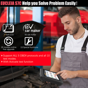 Image 3 - EUCLEIA TabScan S7C OBD 2 Automotive Scanner Professional Car Diagnosis DPF EPB TPMS Oil Service Reset ODB2 Car Diagnostic Tool