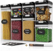 7 шт герметичный контейнер для хранения пищевых продуктов