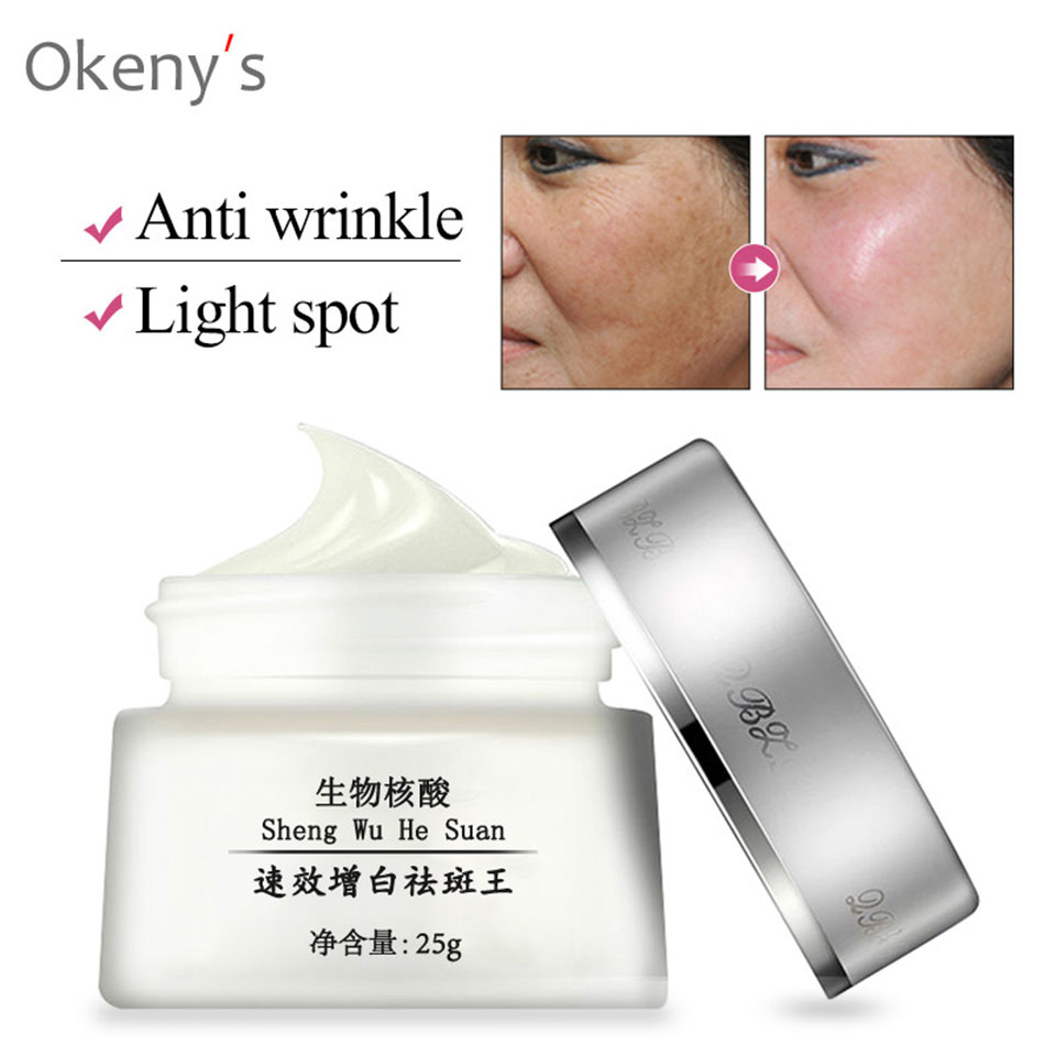 Strong Effects Powerful Whitening Freckle Cream Remove Melasma Acne Spots Pigment Melanin Dark Spots Korean Cosmetics Skin Care