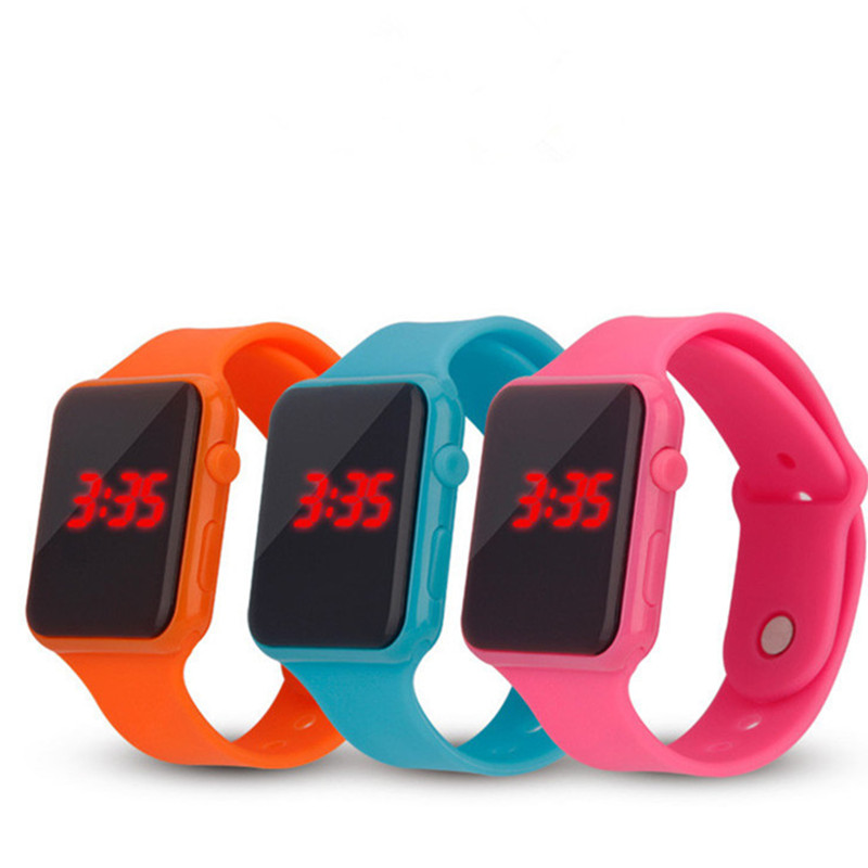 Kids Sport Watch Simple Fashion Children LED Digital Electronic Watches Hot Sell Silicone Clock Reloj Deportivo Relogio