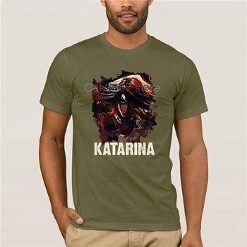 New fashion trend League of Legends KATARINA T-Shirt Cotton fashion 2021 trend T-shirt 1