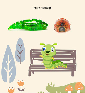 Image 5 - スマート悪魔ツイスト解凍撚糸機ペット幼虫不気味なフォワード現実的な楽しい子供のおもちゃギフト