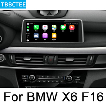 цена на For BMW X6 F16 2014~2018 Multimedia Player HD 1080P IPS LCD Screen Android Car Radio BT 3G 4G WIFI AUX USB GPS Navi