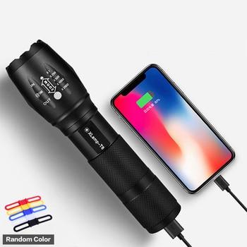 Portable LED flashlight XML T6 super bright torch 5 lighting modes Outdoor camping, night riding, fishing sitemap 165 xml