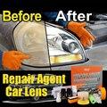 HGKJ Автомобильные фары комплект для ремонта машины, полироль для автомобиля, фар инструмент для восстановления фары внешнее стекло для ремо...