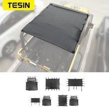 Автомобильный кожаный мягкий чехол на крышу противоударный солнцезащитный