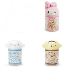 Storage Bag Toy Kukumi Melodyings Little Devil Pudding Big Ear Dog Cotton Swab Box Toothpick Holder Pen Holder Tube Sundries Bag
